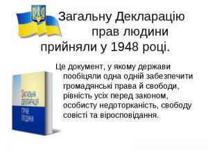 Декларація прав людини