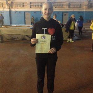Даша Попадюк перемогла в бігу на 800-метрівці