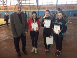 Команда легкоатлетв Кам'янського фізкультурного коледжу перемогла у чемпіонаті Дніпра