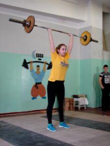 Чемпіонаті області з важкої атлетики