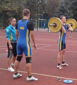 КМСУ з важкої атлетики Петеримов А.