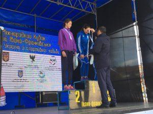 Срібні призери чемпіонату України зі спортивної ходьби