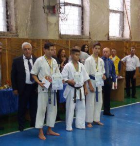 відкритий чемпіонат Дніпропетровської області з Кіокушин карате