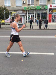 Денис Ярошевський срібний призер чемпіонату України зі спортивної ходьби