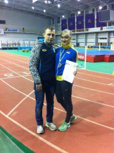 Легкоатлетка Дар'я Ставнича стала призером Чемпіонату України