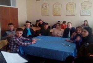 команда легкоатлетів, куратор Савічева В.Л.
