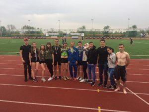 Команда легкоатлетів ККФВ стала призерами чемпіонату Дніпропетровщини