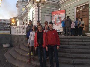 11 група відвідала театр імені Лесі Українки